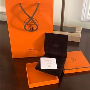 Hermès H bracelet box and dust bag and gift bag